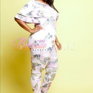 116d8bdb7f41 Barcode Kloset Pants - Print Out Jumpsuit